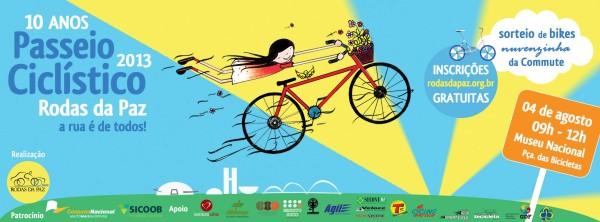 passeio rodas da paz 10 anos banner
