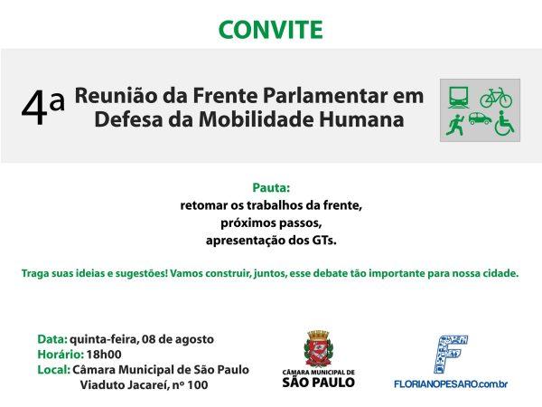 reuniao frente parlamentar mobilidade humana agosto 2013