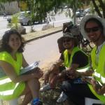 Ciclocidade contou 1317 bicicletas passando por avenida da zona norte da capital paulista, em 15h de contagem. Foto: Roberson Miguel