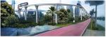 Concepção artística de como ficará o Monotrilho ao lado da Ciclovia Rio Pinheiros. Imagem: Consórcio Monotrilho/Divulgação