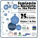 Inscrições pelo e-mail mobilidadehumana@camara.sp.gov.br (envie seu nome e telefone)