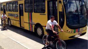 """""""O negócio é sério"""", afirma motorista que passou pelo treinamento. Imagem: Roberta Soares/Reprodução"""
