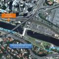 Para chegar à Ponte Cidade Jardim, ciclistas passarão por trecho da pista que atravessa área da Emae. Imagem: Reprodução