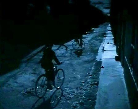 Alguns filmes de Tati tinham a bicicleta como peça central. Imagem: Reprodução