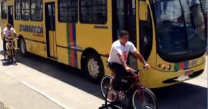 Treinamento com motoristas de ônibus em Recife. Imagem: Roberta Soares/Reprodução