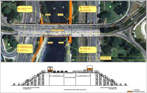 Ponte Cidade Jardim terá acessos nos dois sentidos. Imagem: Reprodução