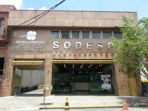 A SODESP, empresa de propriedade do autor do projeto, presta serviços de licenciamento e emplacamento junto ao Detran. Foto: Facebook/Reprodução