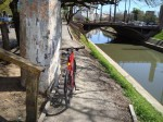 Trecho não-concluído da ciclovia da Av. Ipiranga, em Porto Alegre. Foto: Associação dos Ciclistas de Porto Alegre - ACPA
