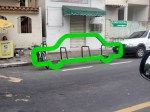 Bicicletários surgiram em vários pontos da cidade. Foto: João Paulo Locately