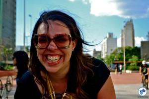 A gaúcha Silvia Pont se surpreendeu com as ladeiras de São Paulo. Foto: Rachel Schein