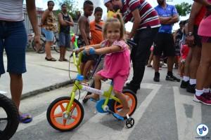 Havia bicicletas de todos os tamanhos. Foto: Rachel Schein