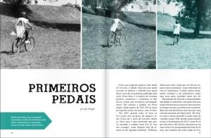 A Velô traz reportagens voltadas a fomentar a cultura da bicicleta e retratar seus usuários. Foto: reprodução