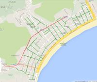 Clique para ver o mapa que o Vá de Bike preparou, indicando as ruas que serão sinalizadas.