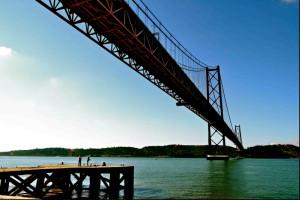 Rio Tejo, em Lisboa (Portugal), passou por processo de revitalização concluído em 2012 (imagem de 2011). Foto: Rachel Schein
