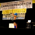 Performance artística durante a cerimônia de abertura. Foto: Rachel Schein
