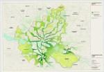 Corredor verde irá também conectar diversos habitats naturais, permitindo que animais circulem pela cidade sem o risco de serem atropelados. Imagem: Divulgação/Departamento Municipal de Planejamento Urbano e Meio-Ambiente