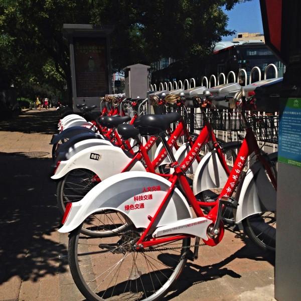 O sistema de bicicletas compartilhadas de Beijing, na China, foi criado pelo governo local. Foto: Michael Vito (Creative Commons)