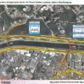 Detalhe de onde serão construídas as novas pontes. Imagem: Reprodução/Prefeitura de São Paulo
