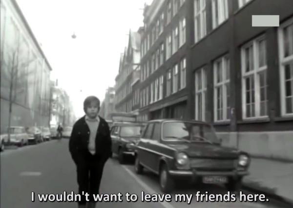Documentário holandês mostra a mobilização de crianças de um bairro de Amsterdam para ter ruas livres para brincar. Foto:Reprodução/YouTube
