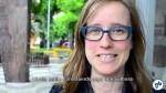 Elly Blue veio de Portland passar um pouco de sua experiência na promoção e defesa do uso da bicicleta. Foto: Rachel Schein