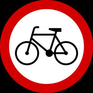 placa bicicleta
