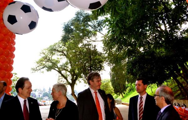 Negócios firmados entre o governo de São Paulo e empresas holandesas não tiveram detalhes revelados ao público durante o evento. Foto: Rachel Schein