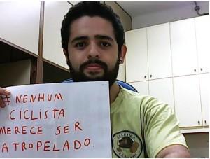 Foto enviada pelo leitor Luan Silva, de São Paulo.