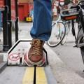 Elevador para ciclista percorre 1,5m por segundo e não requer habilidades especiais para ser utilizado. Foto: Divulgação