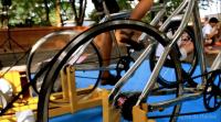 bicicletas gerando energia elétrica - geronimas - coletivo cru