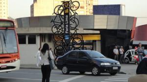 Coletivo CicloLiga criou petição online para pressionar poder público a construir bicicletário. Foram conseguidas mais de 22 mil assinaturas. Imagem: Reprodução/CicloLiga
