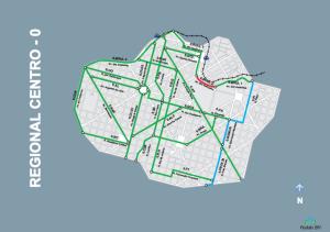 Ciclorrota regionalizada de Belo Horizonte. Foto: Reprodução/