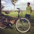Bicicleta produzida pela Ciclég, do empresário Bruno Gusi. Foto: Arquivo pessoal