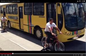 Assista em vídeo como foi o treinamento semelhante realizado em Recife - e depoimentos de motoristas que passaram pela simulação.