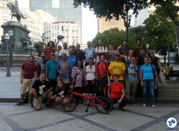 Cicloativistas de todo o país trocaram experiências sobre mobilidade e organização de entidades e empresas. Foto: Willian Cruz