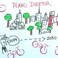 Verba pública seria utilizada na implementação de infraestrutura cicloviária, como ciclovias, ciclofaixas, ciclorrotas, bicicletários e paraciclos. Imagem: Ciclocidade/Divulgação