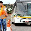 Motoristas de ônibus de Porto Alegre assumem condição de ciclistas em treinamento Na foto: Funcionários da empresa Sudeste - Consórcio Unibus Foto: Rodrigo Mauat Hoff/Divulgação PMPA