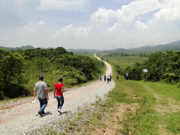 Rota pode ser percorrida tanto de bicicleta quanto a pé. Foto: Divulgação/Prefeitura de São Bernardo do Campo