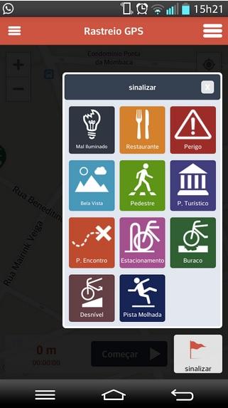 Aplicativo lançado pelo governo do Distrito Federal tem versões para iPhone e Android. Imagem: reprodução.
