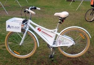 Participantes do evento puderam utilizar bicicletas oferecidas pela organização do Velo City Global para se deslocar por Adelaide. Foto: Zé Lobo