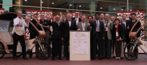 Evento marcou também o lançamento da World Cycling Alliance. Foto: European Cyclists Federation