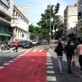 Ciclovias do novo modelo paulistano trarão como benefício adicional a redução de limites de velocidade nas avenidas, protegendo até os próprios motoristas. Foto: Willian Cruz
