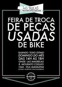 feira de trocas de pecas de bike las magrelas