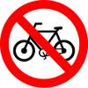 placa r12 proibido bicicletas peq