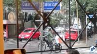 A rua Abílio Soares é rota conhecida dos ciclistas. Foto: Rachel Schein