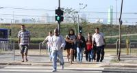 Pressão de moradores e trabalhadores da região obrigou CET a aumentar tempo de travessia para pedestres. Foto: Rachel Schein
