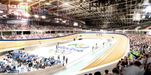 Velódromo do Rio de Janeiro será remontado no Paraná para as Olimpíadas de 2016. Foto: EOM/AECOM