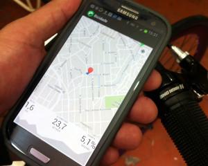 Aplicativo promete oferecer rotas mais seguras e trajetos mais adequados para os ciclistas na cidade de São Paulo. Foto: Fabio Nazareth