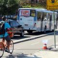 Contagem revelou que quase metade dos usuários de bicicleta estavam indo ao trabalho ou escola. Foto: Fabio Nazareth
