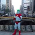 marcha dos super herois urbanos capitao planeta