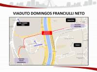 Viaduto Domingos Franciulli Neto. Imagem: SMT/Divulgação